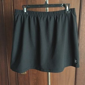 Golf activewear skort